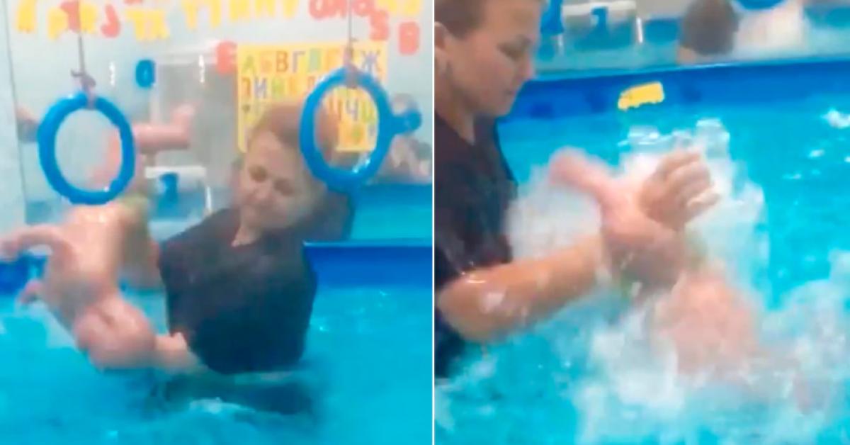 cette coach de natation est accusé de violenter des bébés handicapés
