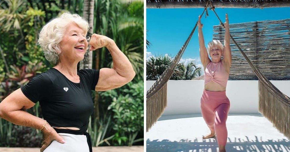 Cette Mamie est influenceuse fitness - quand vous verrez ses photos, vous voudrez l'imiter