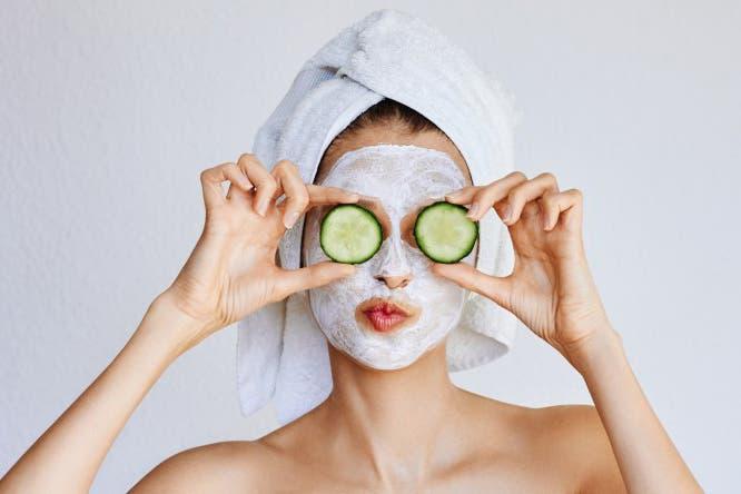 masque de concombre
