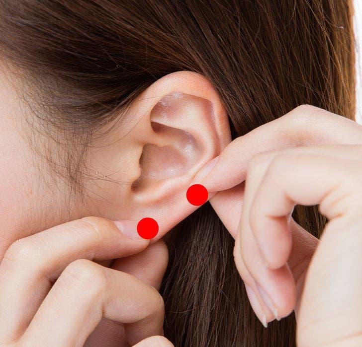 massage oreilles