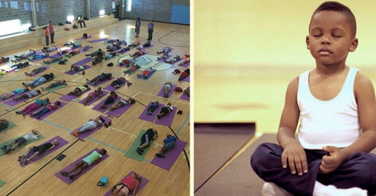Cette école envoie ses élèves en méditation plutôt qu'en retenue et obtient des résultats étonnants