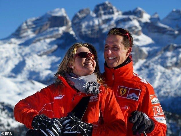 michael schumacher et sa femme