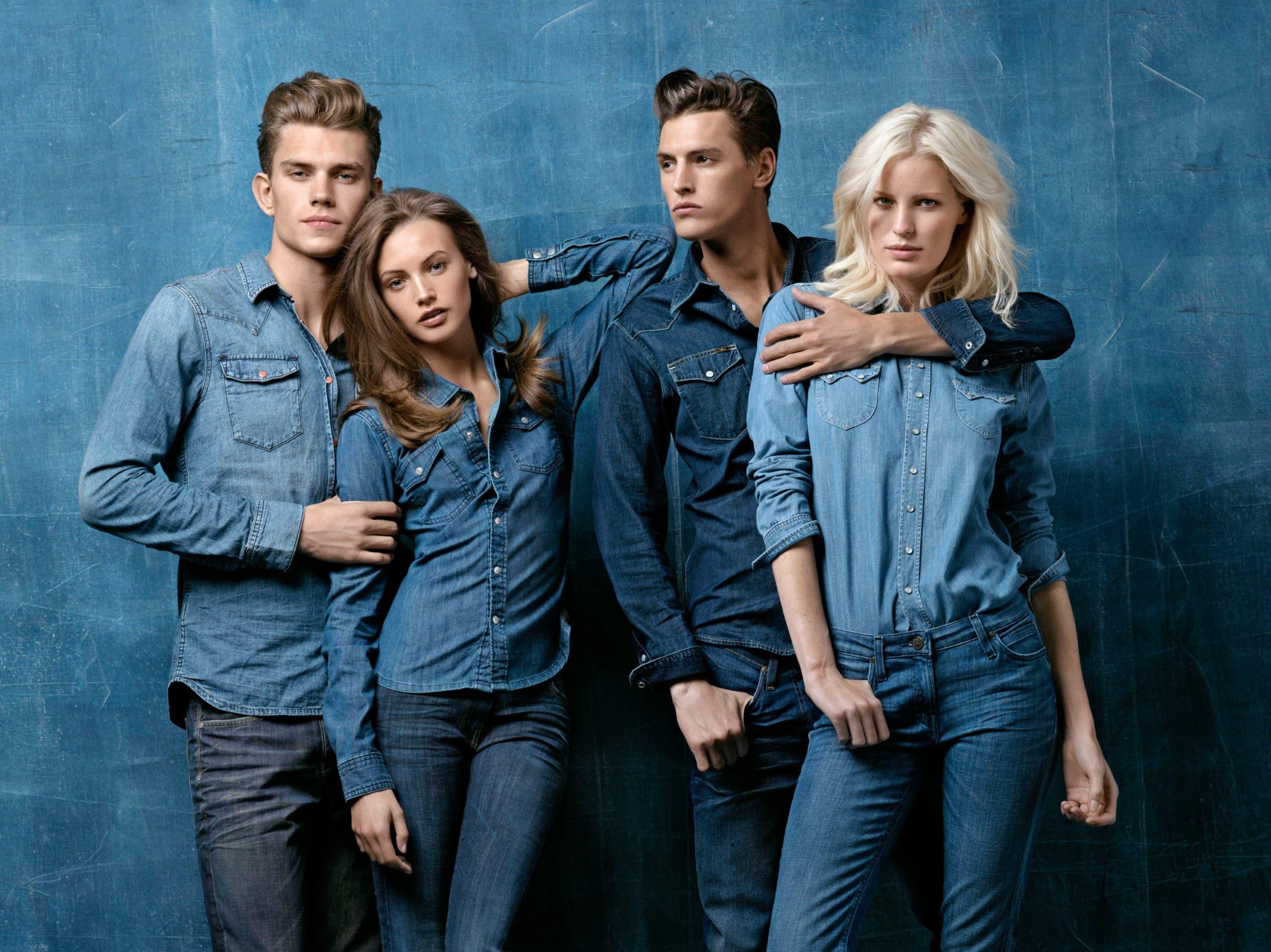 models jeans