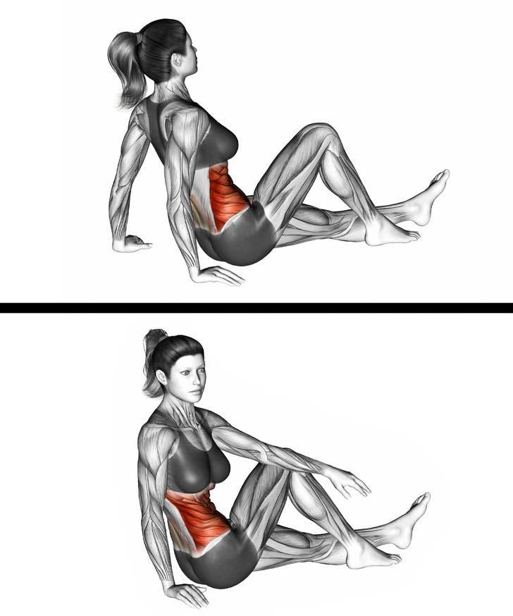 mouvements simples pour affiner sa taille et perdre du poids