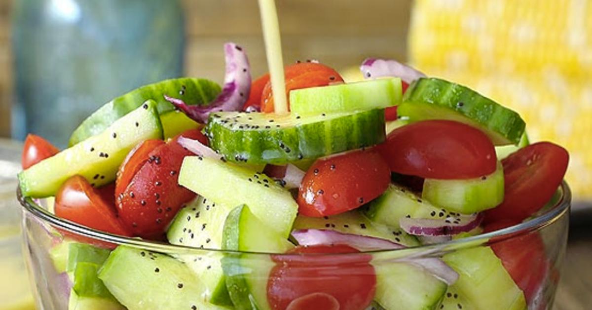 ne consommez plus les concombres et les tomates ensemble 1