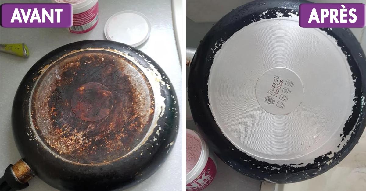 cette astuce au bicarbonate de soude rend les casseroles