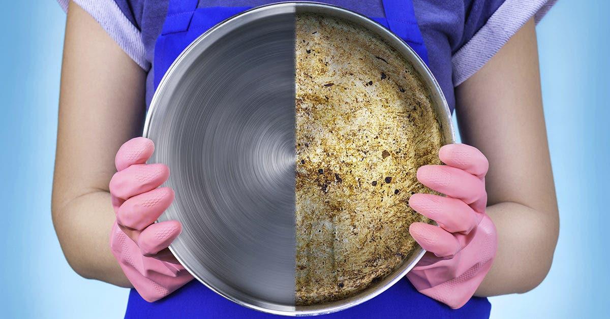 7 astuces maison de génies pour nettoyer les casseroles brûlées