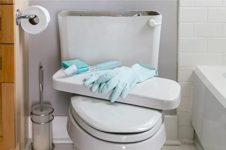 nettoyage des toilettes