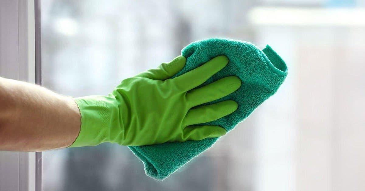 L'astuce incroyable pour nettoyer les vitres et les rendre brillantes