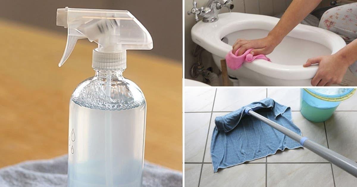 Comment faire un nettoyant multi-usages pour parfumer toute la maison