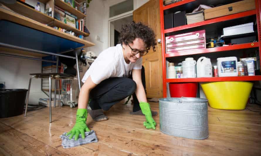 nettoyer le sol