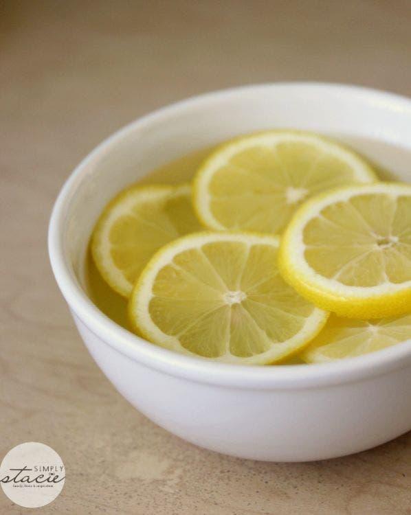 nettoyer micro onde citron