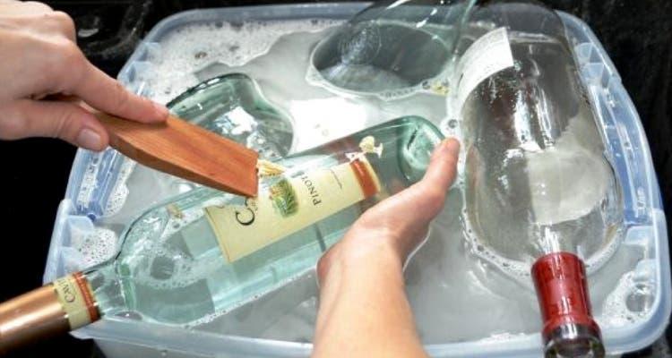 nettoyer recipient en verre