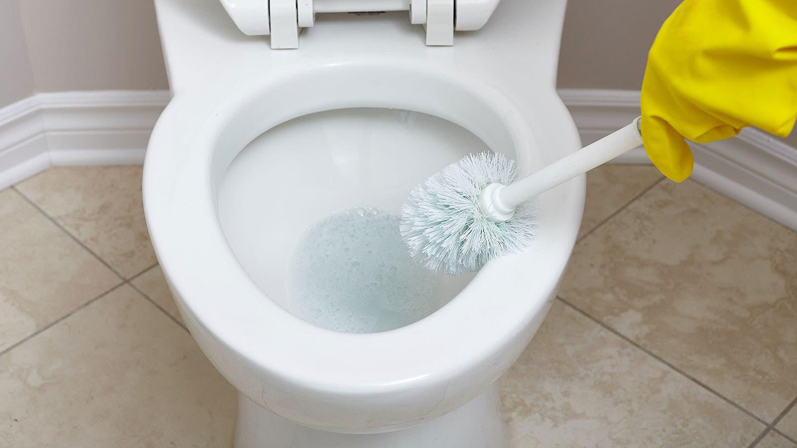 nettoyer toilette