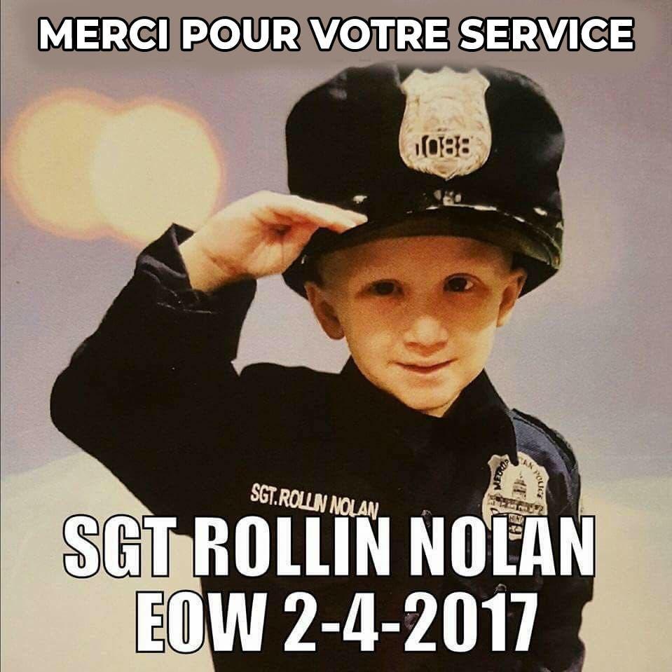 nolan policier remerciments