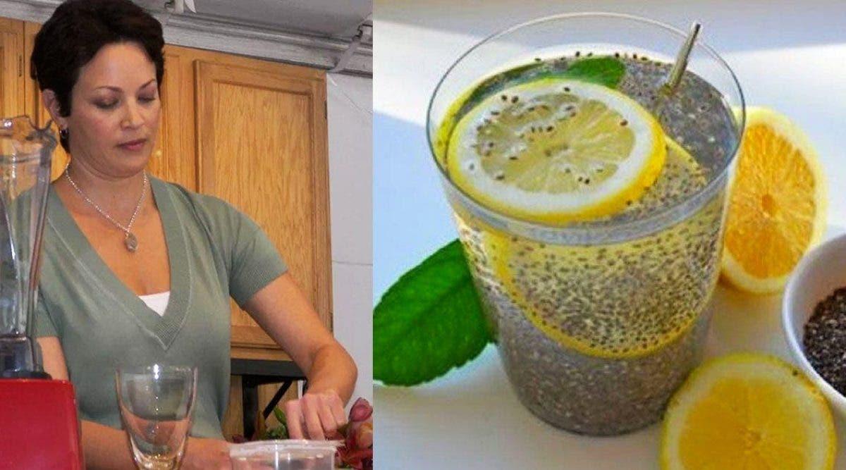 Cette nutritionniste partage sa boisson préférée au citron pour éliminer 6 kg en un mois