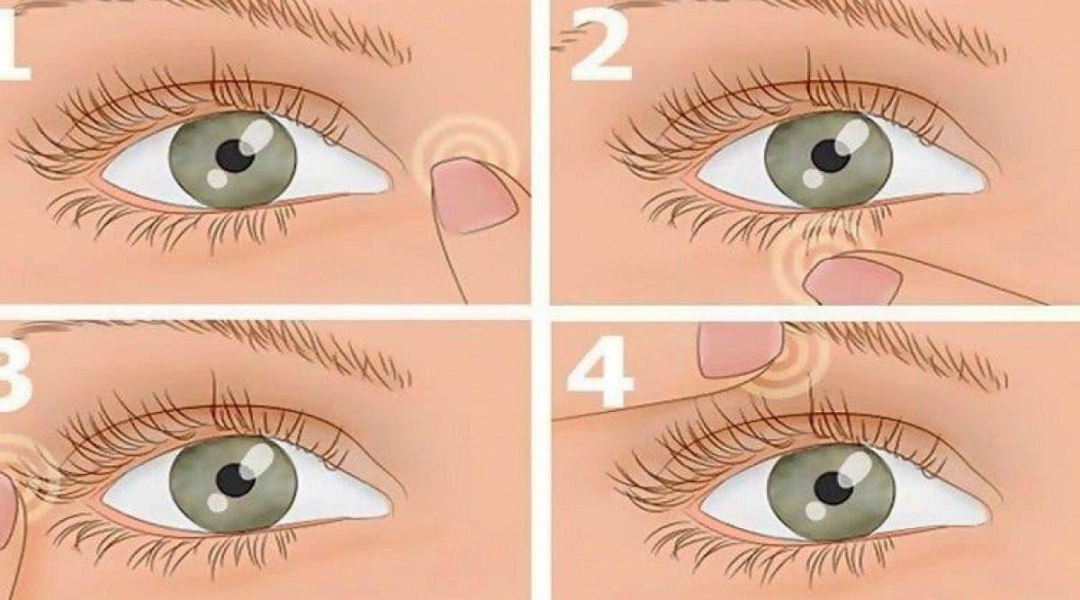 oeil tremble
