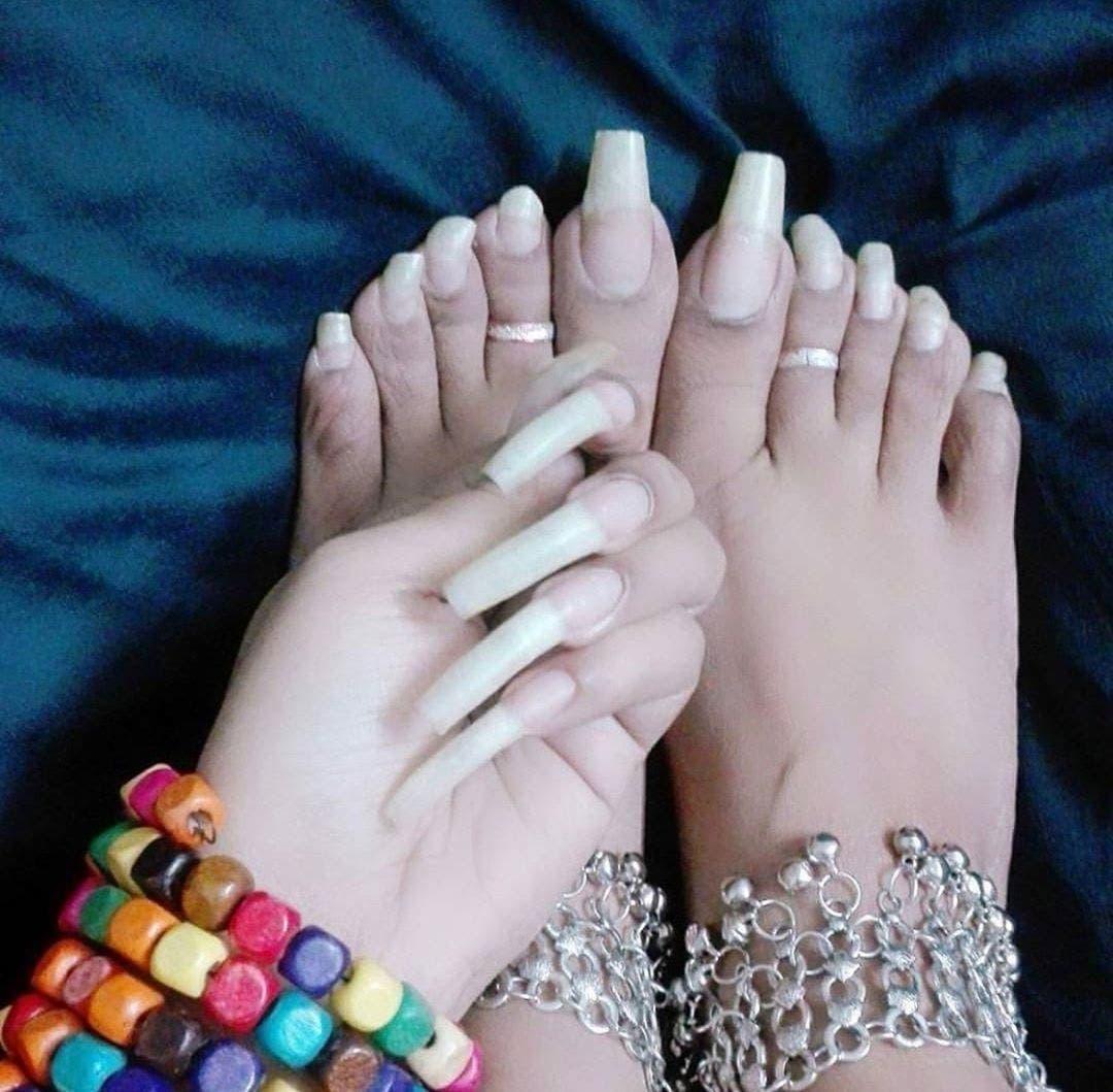 ongles d'orteils en 2018
