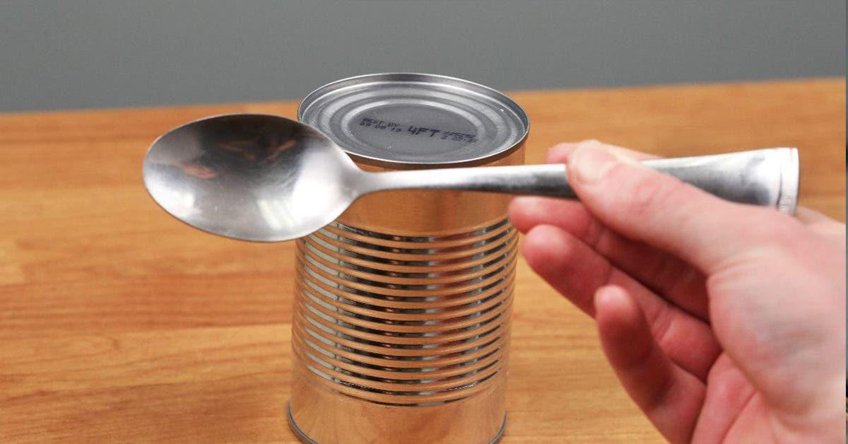 Comment ouvrir une conserve si vous n'avez pas d'ouvre boite ?