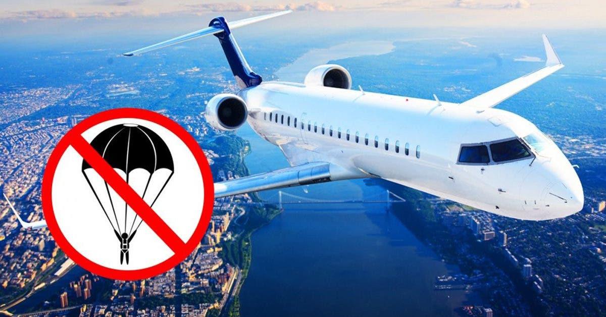 Pourquoi les avions n'ont pas de parachutes pour les passagers en cas d'accident ?