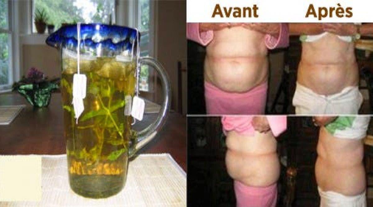 Une boisson pour perdre du poids en seulement un mois !