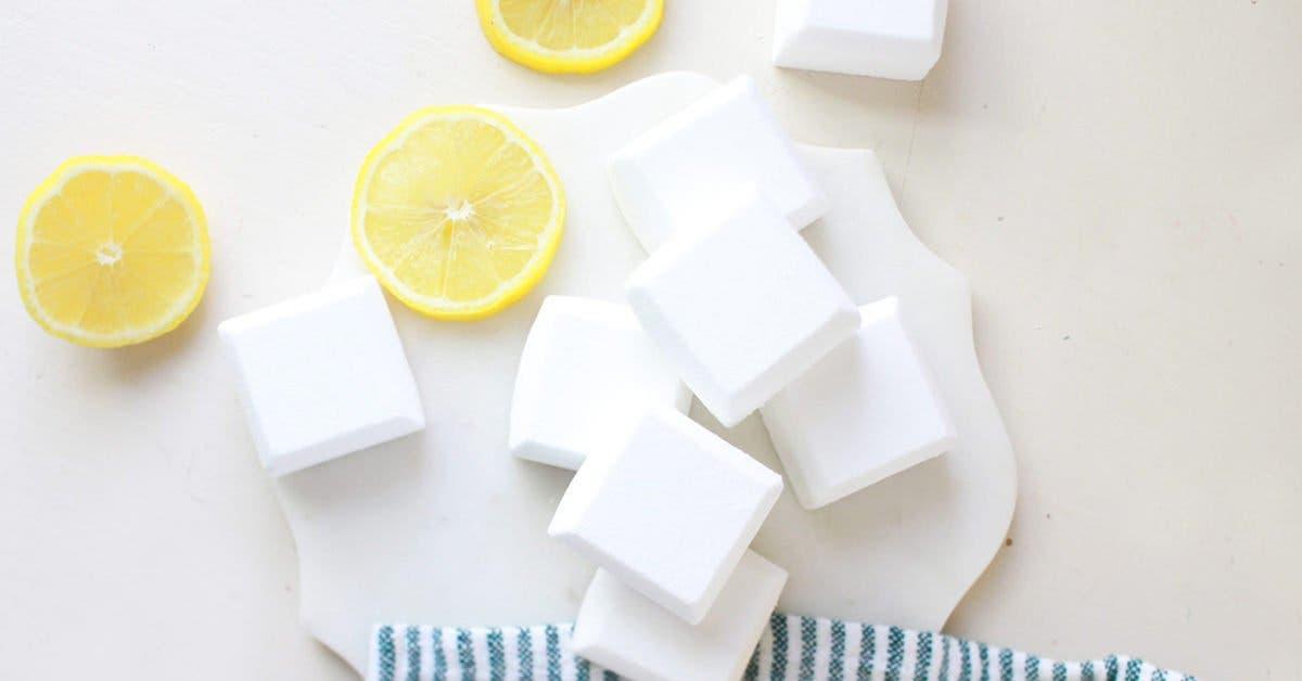 Pastilles wc au bicarbonate pour un nettoyage en profondeur de vos toilettes