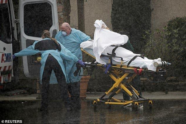 patient ambulance pluie