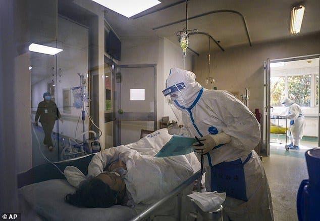 patient hospitalise coronavirus