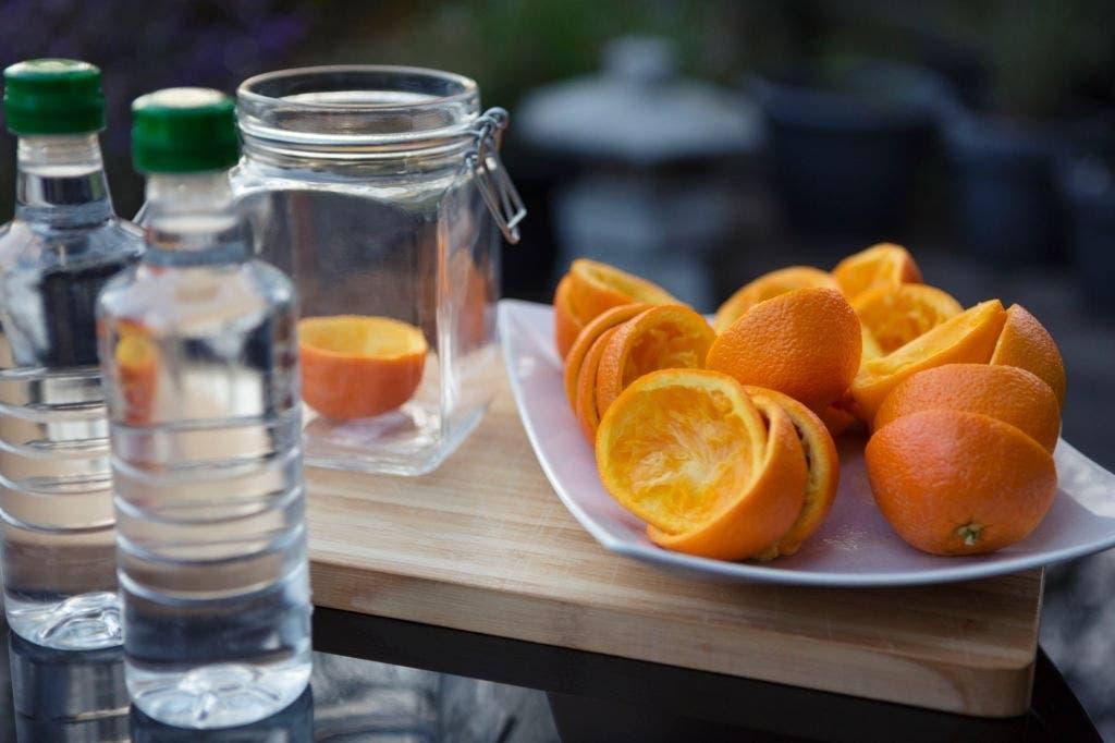 pelures oranges