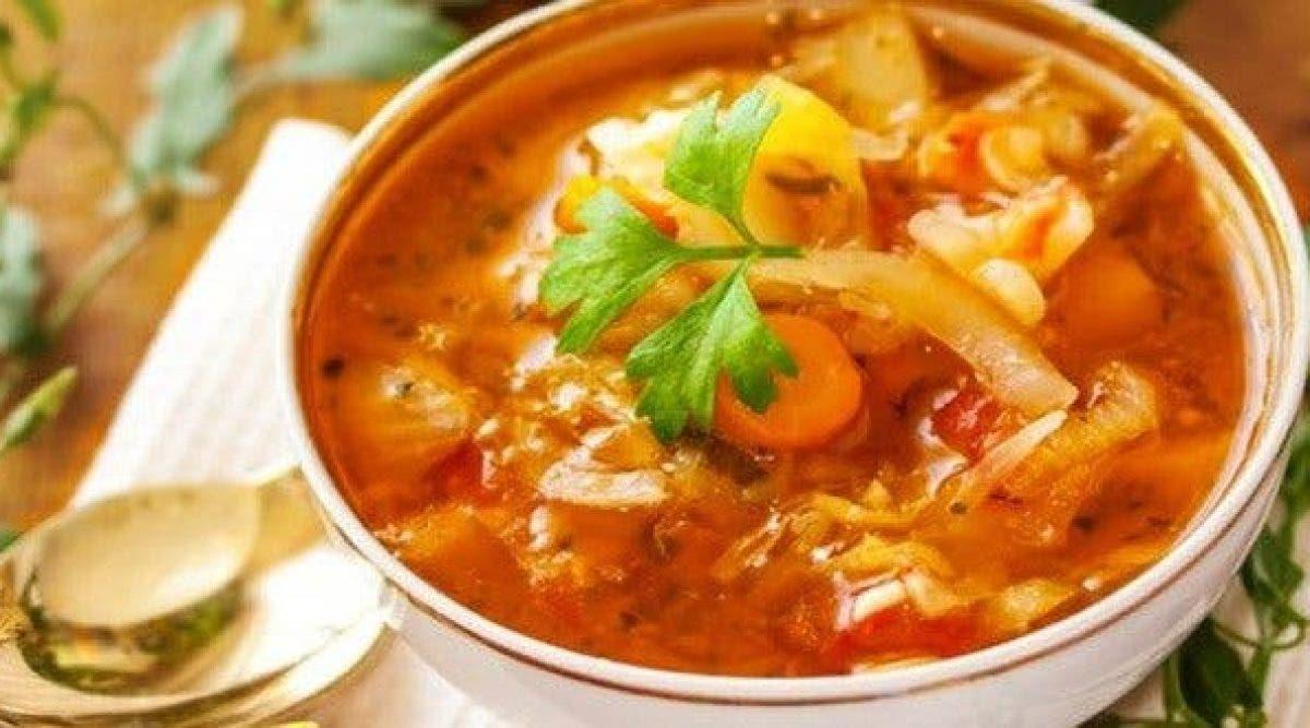 Perdez du poids en une semaine avec cette délicieuse soupe