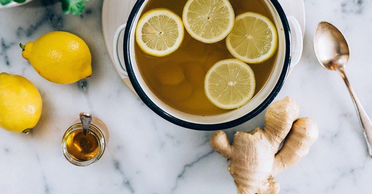 perdre du poids cette infusion extraordinaire au citron gingembre est la meilleure facon de bruler les graisses pendant la nuit 1 1