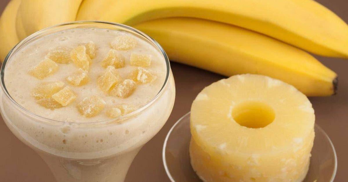 Perdre du poids : Faites fondre les graisses avec cette boisson à l'ananas et à la banane
