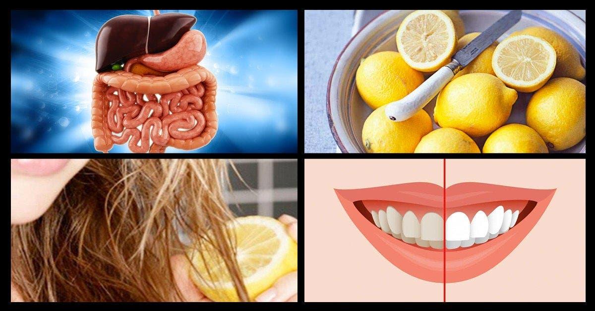 utilisations géniales du citron que les gens ne connaissent pas