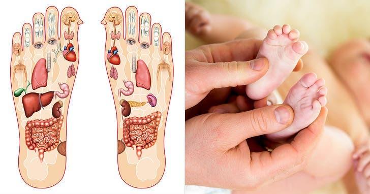 pieds de bébé