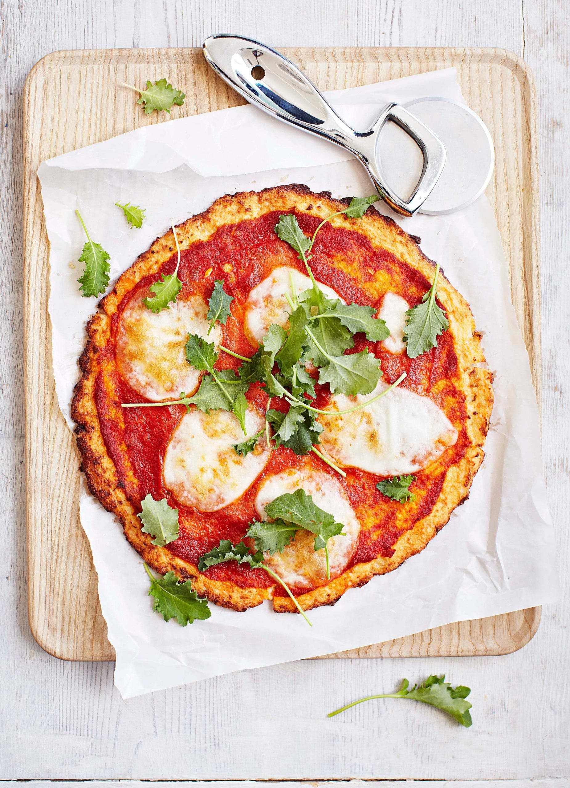 pizza choufleur