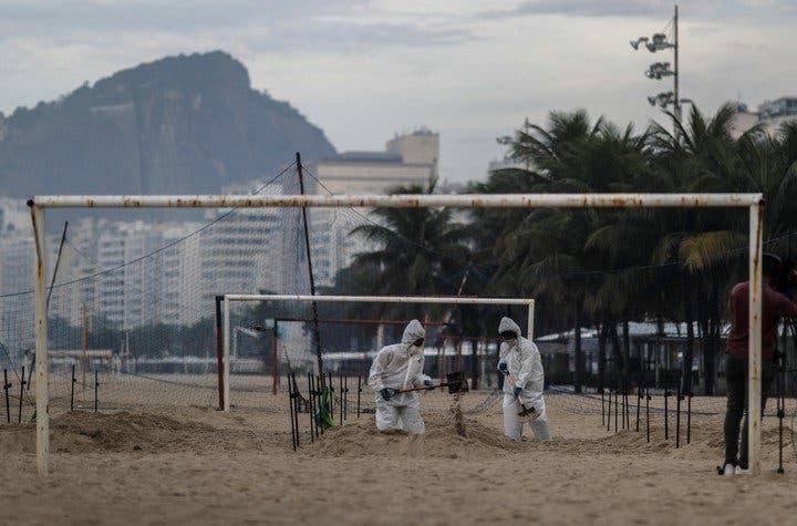 plage cobacabana