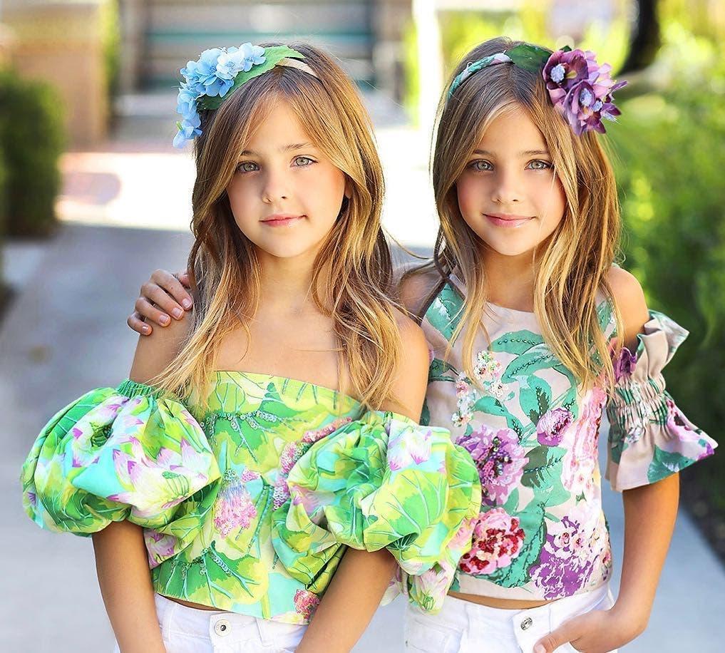 Ces deux sœurs sont appelées les deux plus belles jumelles du monde, découvrez à quoi elles ressemblent aujourd'hui