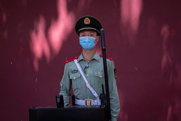 policier chinois
