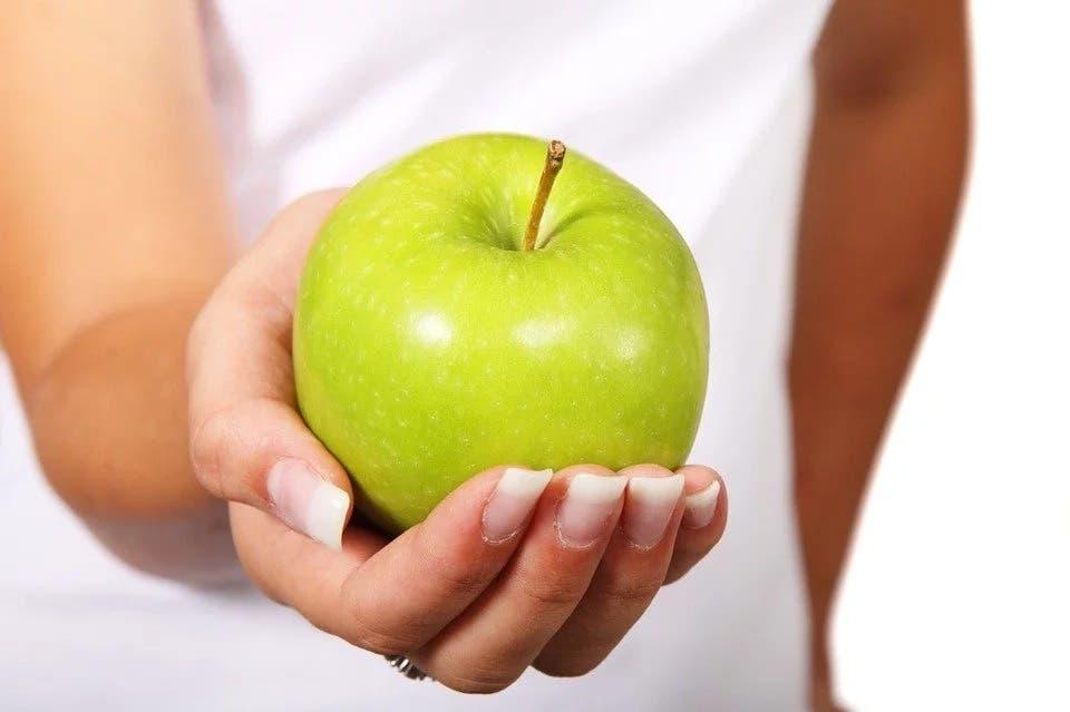régime aux pommes