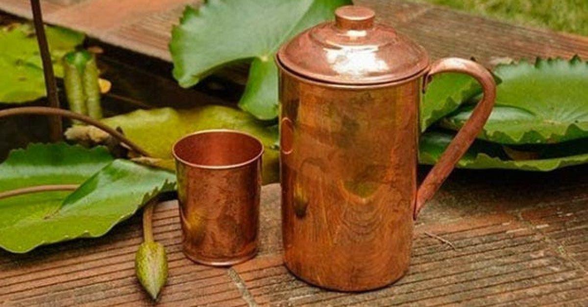 pourquoi faut il boire de leau dans une tasse en cuivre 1