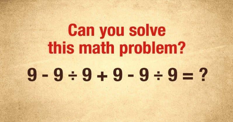 probleme mathematique