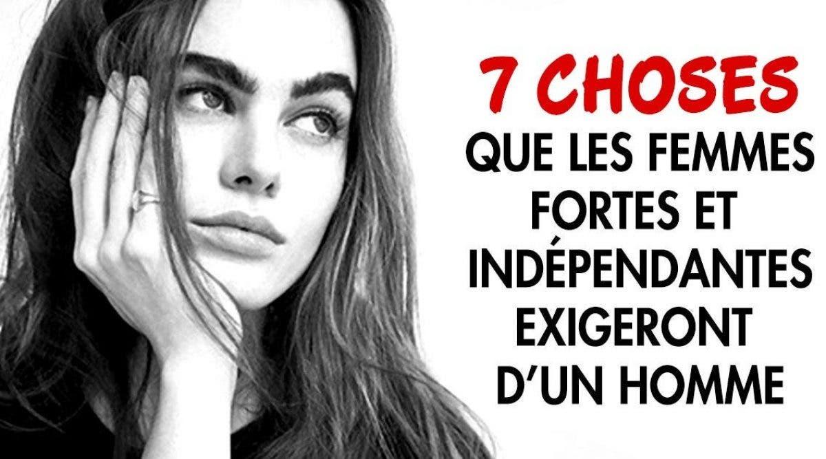 7 choses que les femmes fortes et indépendantes exigeront d'un homme