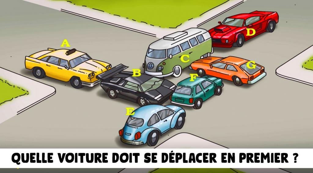 quelle-voiture-doit-se-deplacer-en-premier-pour-liberer-les-embouteillages--pouvez-vous-resoudre-ce-casse-tete
