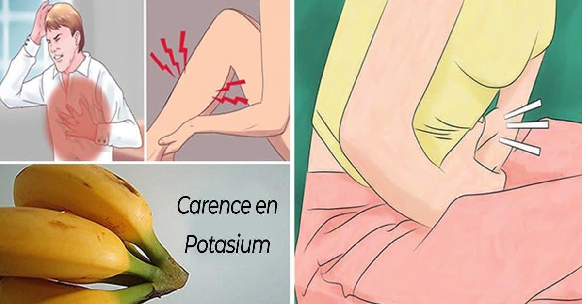 quels sont les signes de la carence en potassium et dans quels aliments en trouver 1 1
