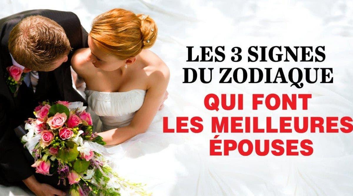 Voici les 3 signes du zodiaque qui font les meilleurs femmes à marier