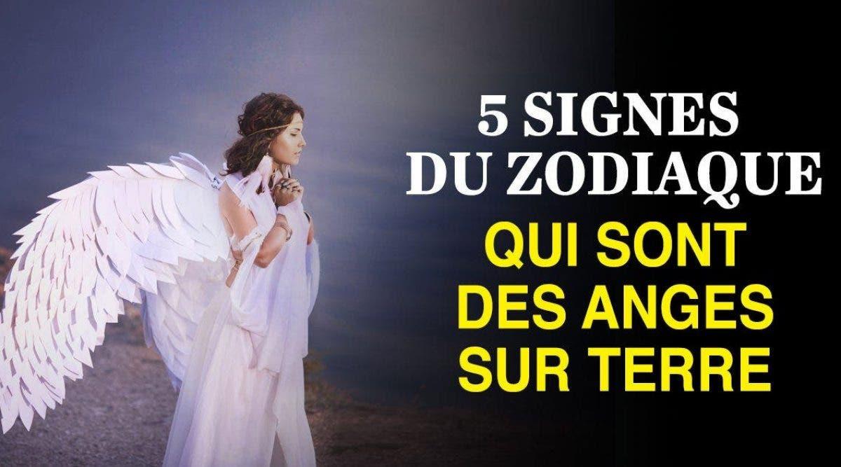 signes du zodiaque qui sont des anges sur terre