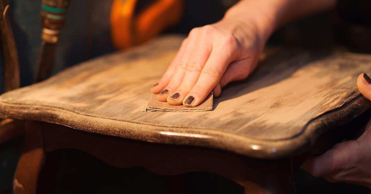 3 astuces pour enlever les rayures et les traces sur les meubles en bois