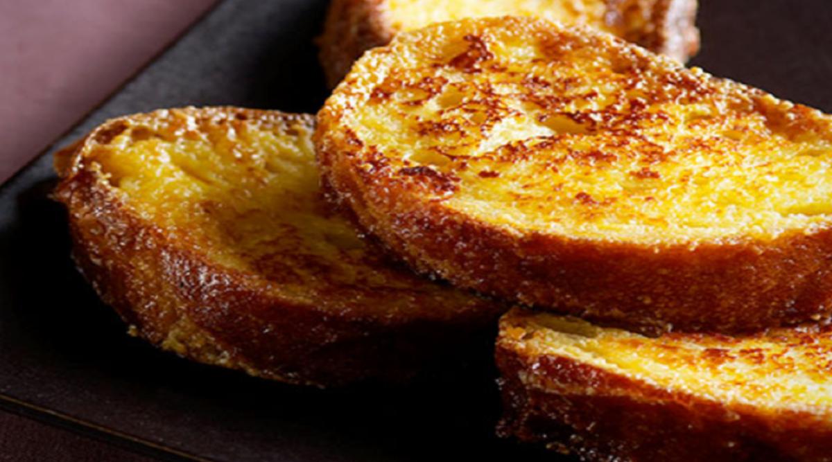 délicieux pain perdu de mamie sans sucre
