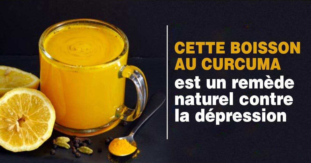recette cette boisson au curcuma est le meilleur remede naturel pour soulager la depression 1
