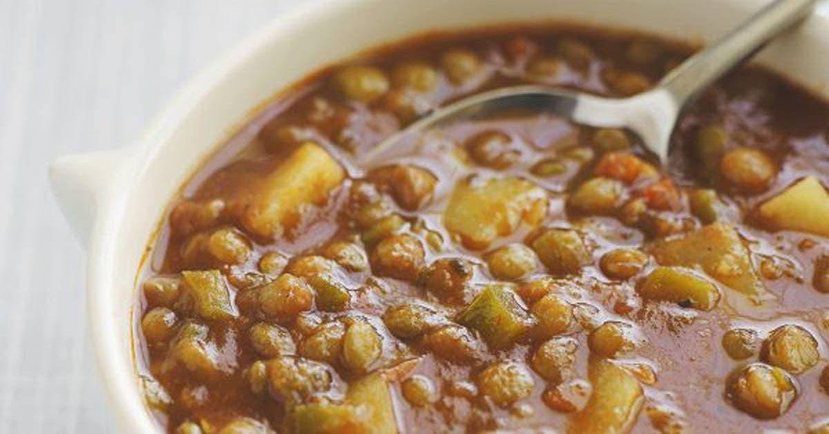 recette cette delicieuse soupe de lentille previent du diabete de type 2 de la demence et du cancer 1